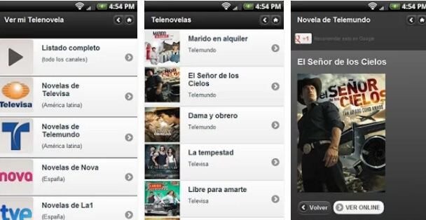 Mejores Apps para ver Novelas gratis ✅ Descarga aquí