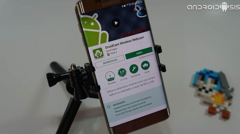 Aplicaciones para usar tu telefono como webcam