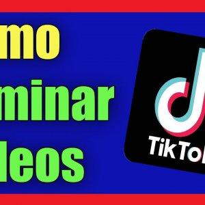 Cómo borrar un vídeo de Tik Tok