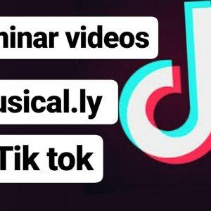 Como borrar todos los videos de Tik Tok a la vez
