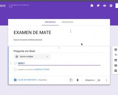 ¿Cómo marcar las respuestas correctas en un formulario de Google?