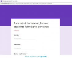 ¿Cómo ver las respuestas de un formulario de Google con inspeccionar?
