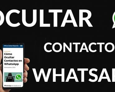 ¿Cómo ocultar un contacto en WhatsApp Plus?
